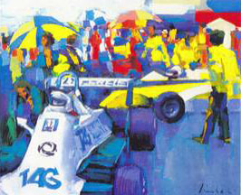 """Tag in the Box"" - Formula One - Collection - Nicola Simbari"