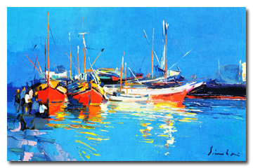 Greek Harbour - Nicola Simbari